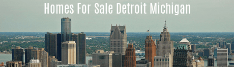 Homes for Sale Detroit Michigan